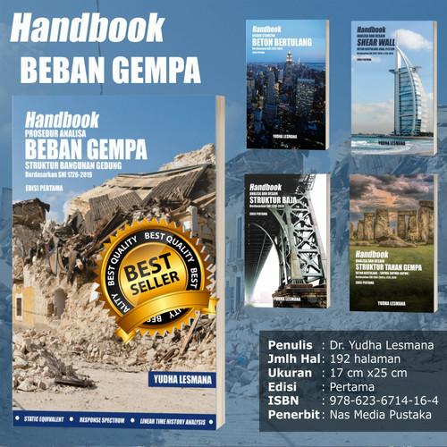 Foto Produk Softcover- Handbook Prosedur Analisa Beban Gempa sesuai SNI1726-2019 dari mQuake Store