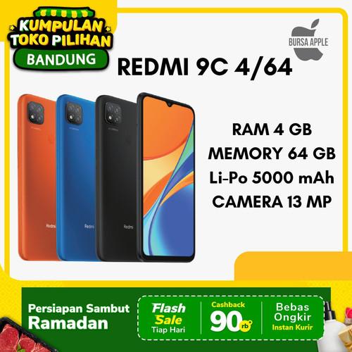 Foto Produk Xiaomi Redmi 9C 4/64 / RAM 4GB 64GB Garansi Resmi Xiaomi Indonesia - Biru dari BursaApple