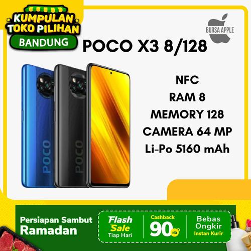 Foto Produk Poco X3 NFC 8/128 Pocophone X3 Poco X 3 Garansi Resmi XIAOMI INDONESIA - Biru dari BursaApple