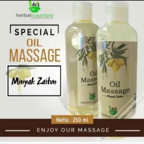 Foto Produk Minyak pijit Urut oil Massage Herbal Alami Wangi Minyak Zaitun 250 ML - green tea, 100 Ml dari irfanalviana