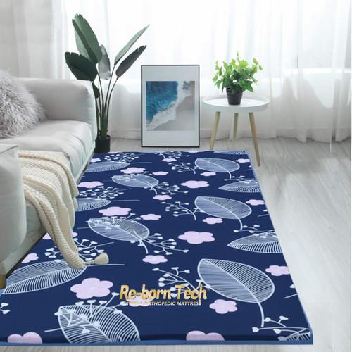 Foto Produk kasur lipat /kasur lantai/matras kain katun motif dari Re-born Tech