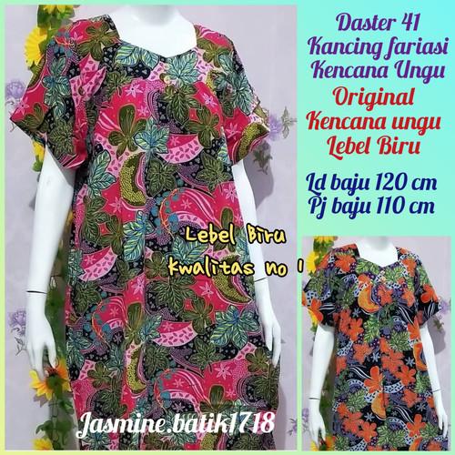 Foto Produk DASTER 41 TANPA KANCING KENCANA UNGU dari jasmine.batik1718