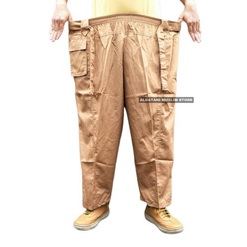 Foto Produk Celana sirwal boxer SUPER JUMBO XXXL dari Albatani Muslim Store