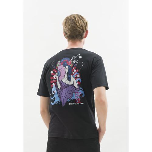 Foto Produk Kaos hitam t shirt polos houseofcuff motif A Geisha READY HINGGA 4XL dari House of Cuff