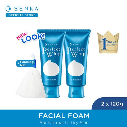 Foto Produk Senka Perfect Whip 120 gr + 120 gr dari Senka Official Store