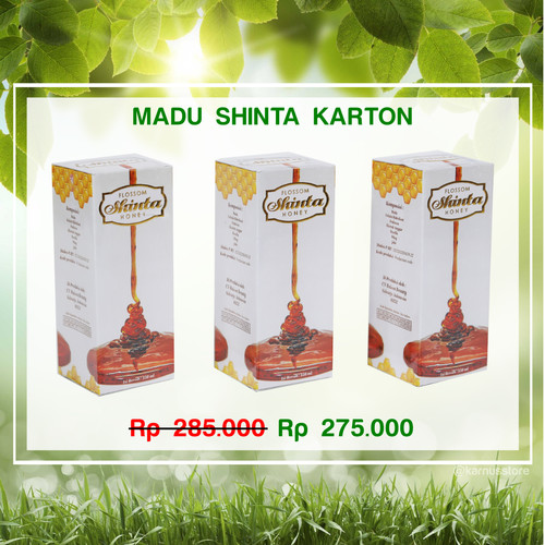 Foto Produk MADU SHINTA KARTON dari Karnus Store