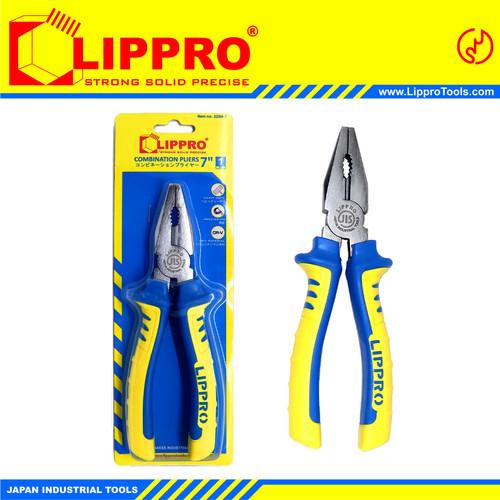Foto Produk LIPPRO TANG KOMBINASI 7 INCH COMBINATION PLIERS dari Lippro Tools