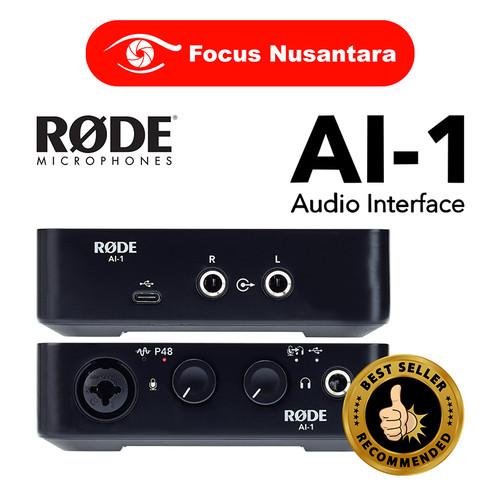 Foto Produk RODE AI-1 Audio Interface dari Focus Nusantara