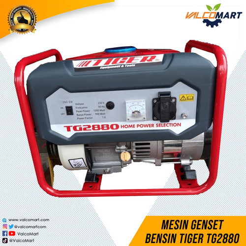 Foto Produk Mesin Genset Bensin Tiger TG2880 Gasoline Generator Tiger dari Valco