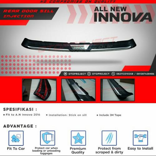 Foto Produk Sill Plate Pintu Belakang / List Pintu Belakang Innova Reborn dari Mega Oriental Motor