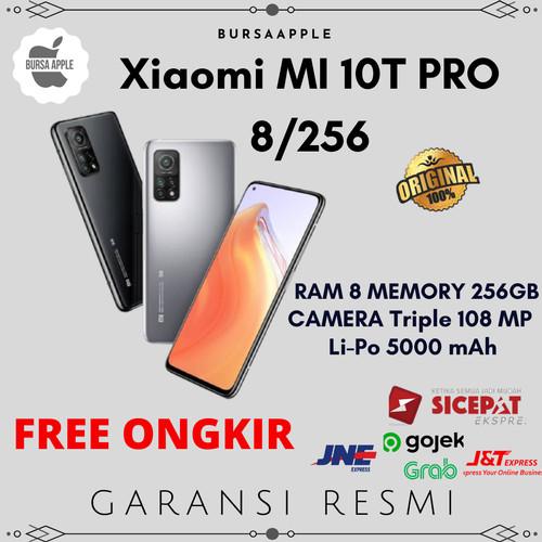 Foto Produk Xiaomi MI 10T Pro 8/256 MI 10 T Pro Ram 8 Internal 256GB Resmi XIAOMI - Hitam dari BursaApple