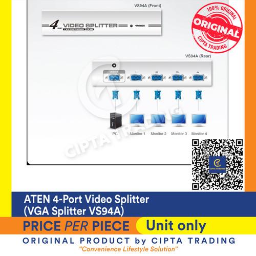 Foto Produk ATEN 4-Port Video Splitter (VGA Splitter VS94A) dari Cipta Trading