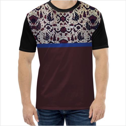 Foto Produk Baju Kaos Pria-Kaos Islami-Kaos Hijrah-Batik 7 (Ready BIG SIZE) - S dari Harder Store