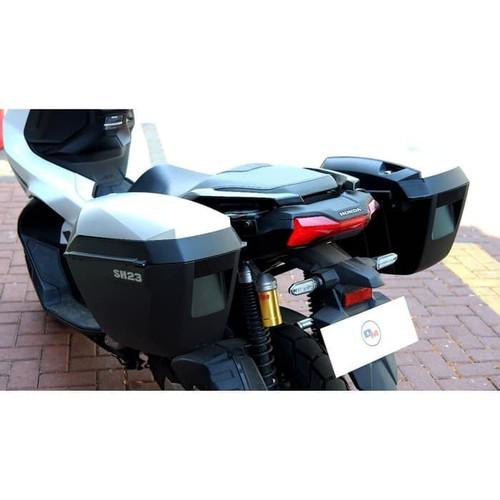 Foto Produk Box SHAD SH23 SH 23 alumunium Side Box + Breket SHAD 3P Honda ADV 150 dari Motochiefdotnet