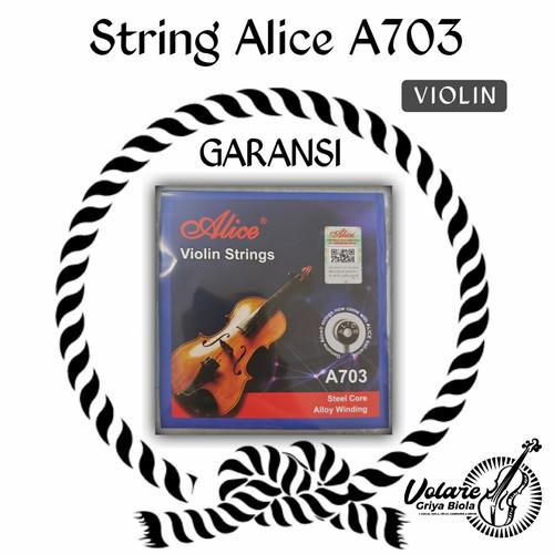 Foto Produk Senar Biola 3/4-4/4 Alice 703 set (GDAE) - Gudang dari Toko Biola