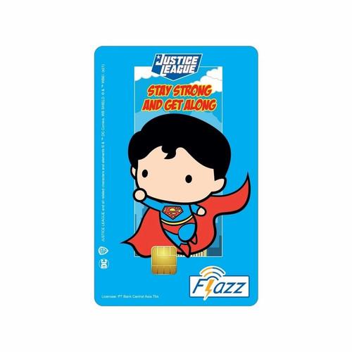Foto Produk Kartu Flazz BCA Gen 2 Ori Saldo 0 - Super Heroes - Superman dari toyosan