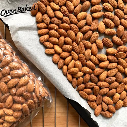 Foto Produk Kacang Almond Panggang 500gr (Roasted Almond) dari Kebun Kita