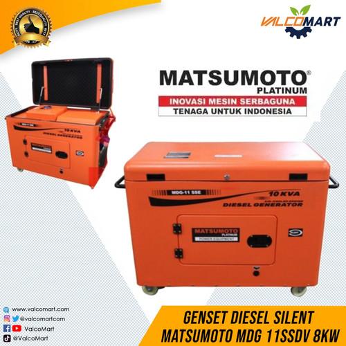 Foto Produk Genset Diesel Silent Matsumoto MDG 11SSDV 8KW (Diesel Generator) dari Valco