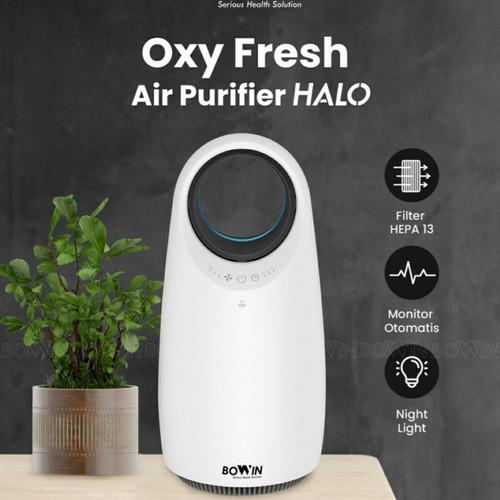 Foto Produk Bowin Air Purifier Oxy HALO ( Filter HEPA 13 Karbon Aktif ISO) dari JMC Helmet