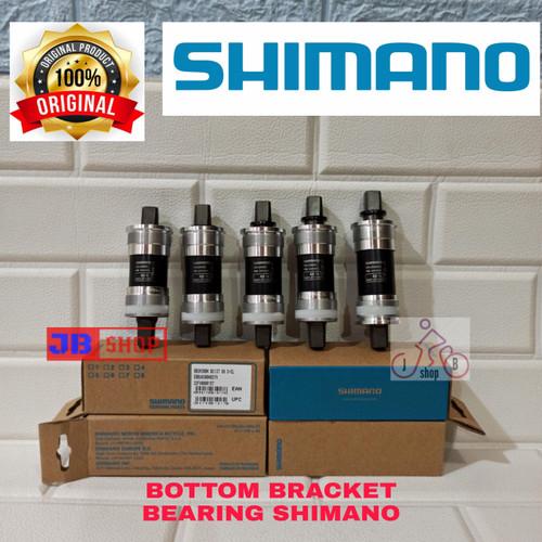 Foto Produk BOTTOM BRACKET BB SEPEDA SHIMANO AS GIR GEAR BEARING 113 117,5 122 127 - UKURAN BB 127 dari JB Shop 1