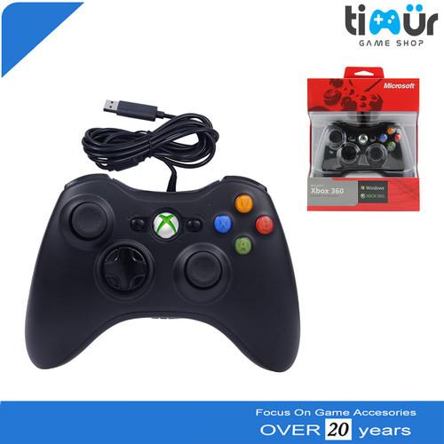 Foto Produk Stik Stick Xbox 360 Wired kabel dari Timur Game Shop