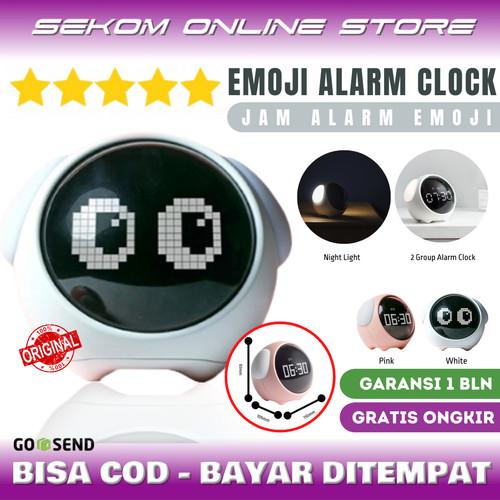 Foto Produk Emoji Digital Alarm Clock - Jam Weker Alarm Anak Anak dari SEKOM ONLINE STORE
