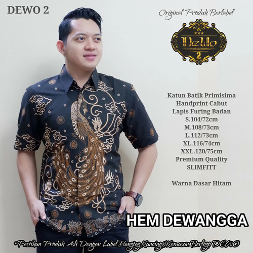 Foto Produk kemeja batik dewangga slimfit dari Jivan Batik