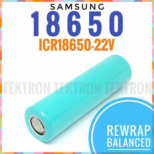 Foto Produk Samsung ICR18650-22V 2200mAh 18650 Li-ion Cabutan Rewrap 3.7V Balance dari tektron