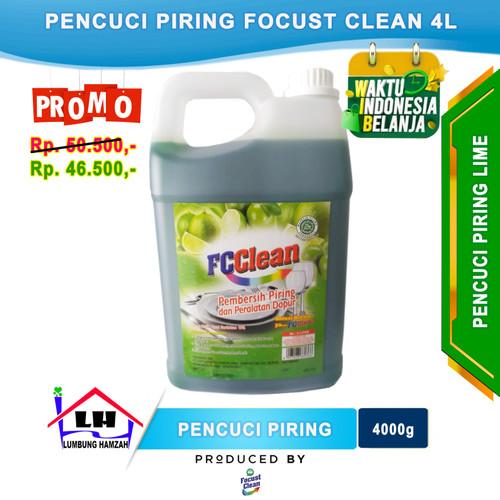Foto Produk Sabun Cuci Piring Focust Clean 4L Promo dari Toko Sabun Hamzah