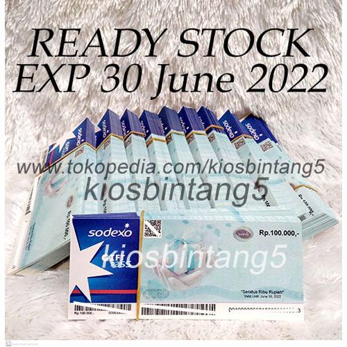 Foto Produk VOUCHER SODEXO 100K exp terbaru dari kiosbintang5