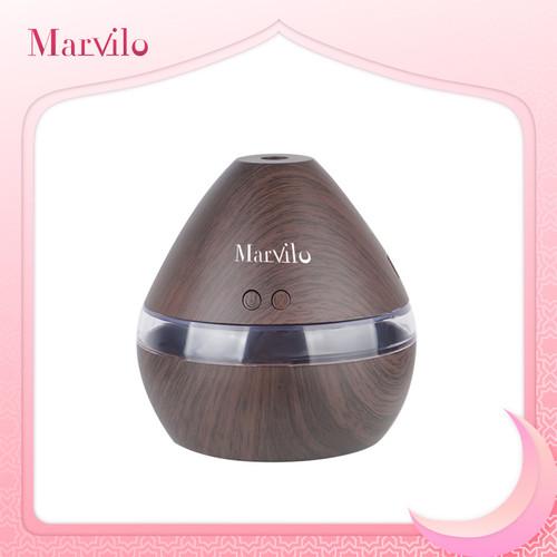 Foto Produk Marvilo Humidifier Pelembab Ruangan Bentuk Waterdrop Dengan Aksen Kayu dari Marvilo Official Store