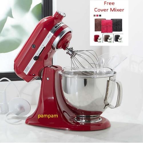 Foto Produk KitchenAid Artisan Series 5-Quart Stand Mixer 5KSM150 Empire Red dari Pampam