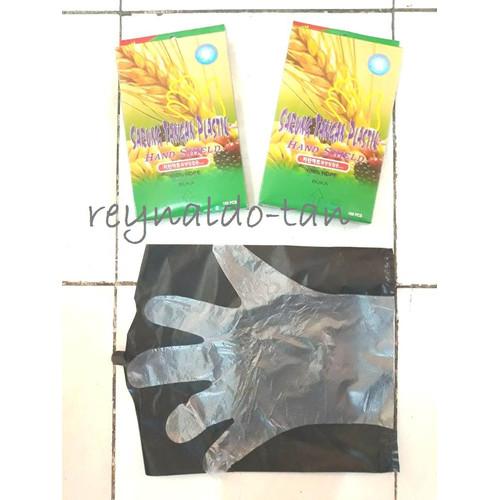 Foto Produk Sarung Tangan Plastik Bening isi 100 pcs dari reynaldo-tan