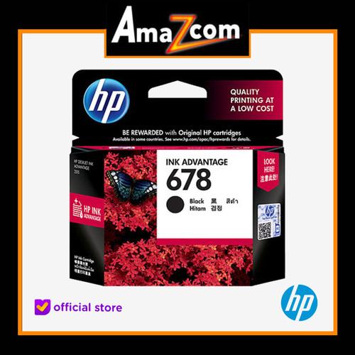 Foto Produk HP 678 Black Ink Cartridge ( CZ107AA ) dari amazcom