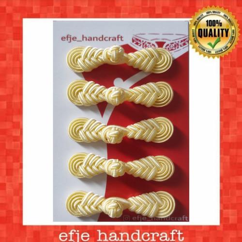Foto Produk Kancing Cheongsam/ Shanghai EFJE K002- CREAM dari efje_handcraft