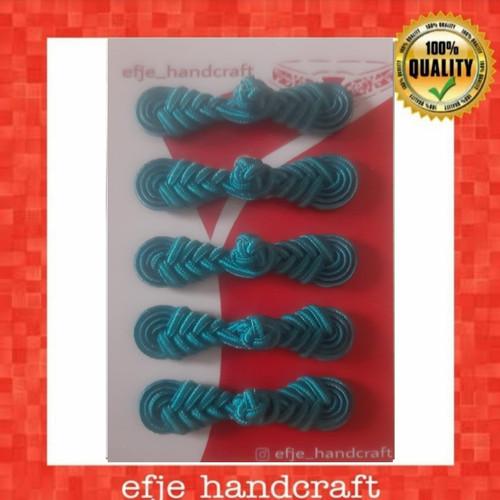 Foto Produk Kancing Cheongsam/ Shanghai EFJE K002- BLUE JADE dari efje_handcraft
