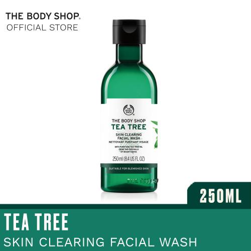 Foto Produk The Body Shop Tea Tree Skin Clearing Facial Wash 250ML dari The Body Shop Indonesia