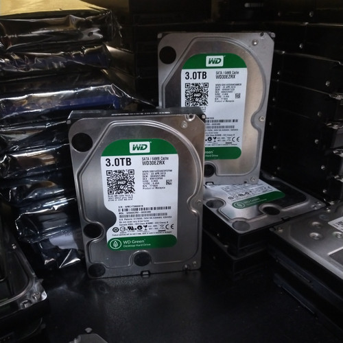 """Foto Produk HDD PC 3,5"""" 3TB 100% SENTINEL WD RED, WD PURPLE, WD YELLOW, HGST... dari Kingcom88"""