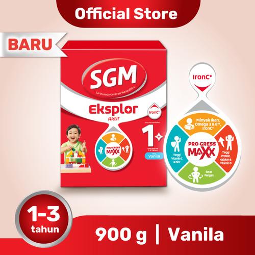 Foto Produk SGM Eksplor 1 Plus Susu Pertumbuhan 1-3 Thn Vanila 900g dari SGM Official Store