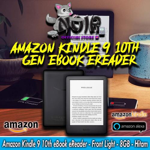 Foto Produk Amazon Kindle 9 10th 10 th gen eBook eReader - Front Light - 8GB - Hitam dari NOIR Official Store