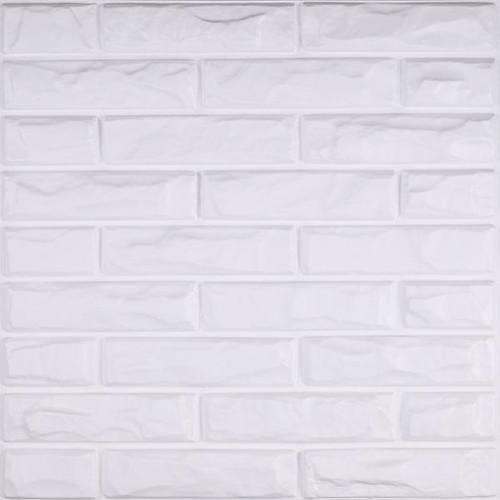 Foto Produk TRIDEE WALLPANEL FLORAL   WALLPAPER DINDING DEKORASI - TP13 BRICK dari Tridee Wallpaper