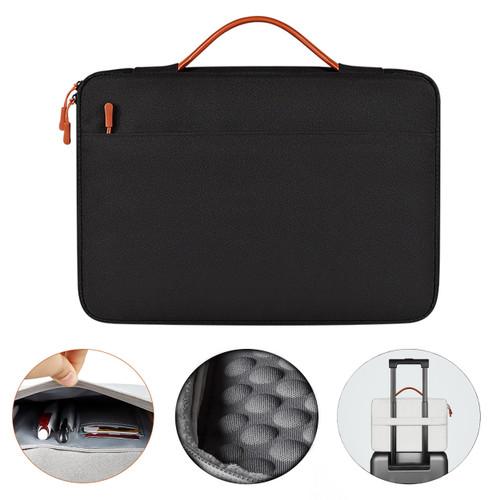 Foto Produk Tas Laptop Jinjing / Sarung Laptop 13.3 Inch / 14.1 - 15.4 Inch ND02S - Hitam, 13.3 Inch dari KRUGEER