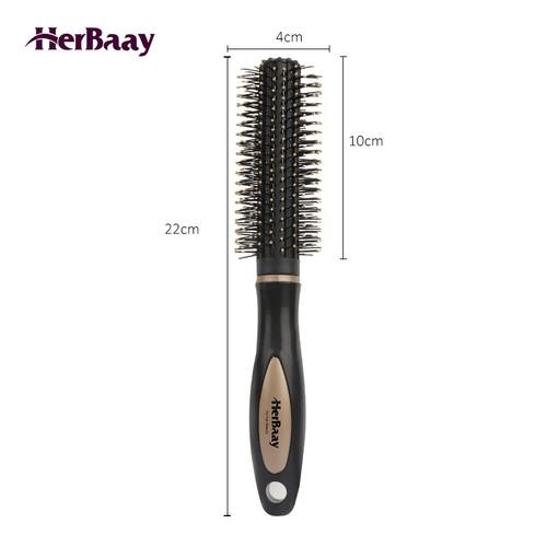 Foto Produk hair comb sisir anti kusut anti listrik statis dan pijat kepala lonjon - round dari HerBaay official Store
