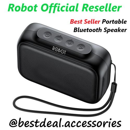 Foto Produk Robot RB100 Bluetooth Speaker 5.0 Dots (spt JBL Go / Anker Soundcore) dari bestdeal official