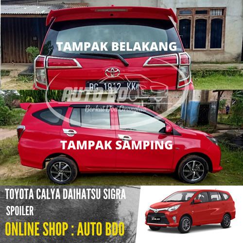Foto Produk Spoiler Calya & Sigra Plastik ABS Berkualitas dari Auto BDO Berkat Doa Ortu
