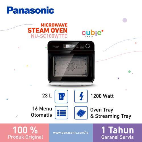 Foto Produk Panasonic NUSC100WTTE – Microwave and Steam dari Panasonic Home Solution