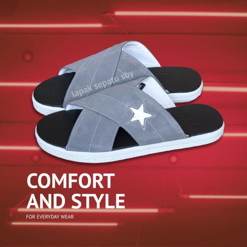 Foto Produk Sandal Pria Slide Slip On Casual Converse One Star dari Distributor Sepatu BDG