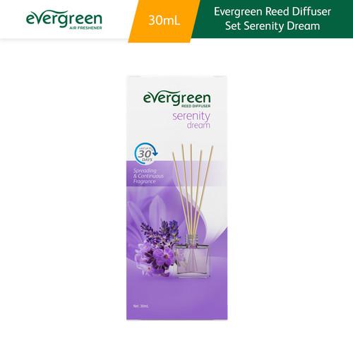 Foto Produk Evergreen Reed Diffuser Set Serenity Dream 30 ml dari Kino Store ID