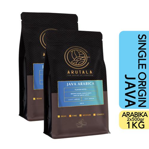 Foto Produk ARUTALA Kopi Arabika Jawa Java Arabica 1KG - Bean dari Arutala Online Co.