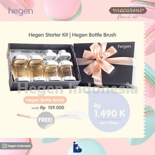 Foto Produk Hegen Starter Kit I Hegen Bottle Brush dari kiddobabystore